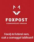 Rendeljen Foxpostal! Kedvező ár/érték arány, gyors és rugalmas megoldás!