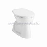 Alföldi Bázis WC-csésze 4033 alsó kifolyású, mélyöblítésû, hosszú