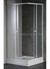 fehér/matt üveg 4mm